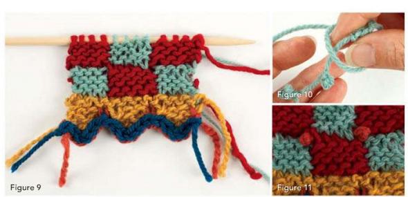 puntos tricot, punto andino dos agujas, patrones para crochet