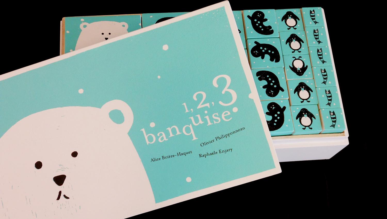 sac album 1 2 3 banquise chez pierrick cole petite section. Black Bedroom Furniture Sets. Home Design Ideas
