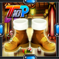 Play Top10newgames Christmas Find The Golden Shoe