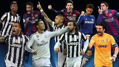 Candidates UEFA Best Player season 2014-2015