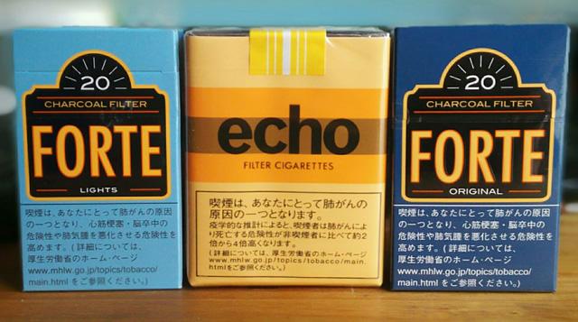 フォルテとエコの比較写真
