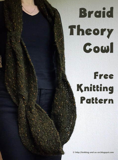 Knitting and so on: Braid Theory Cowl