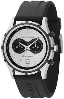 Emporio Armani Men's AR0532 Rubber
