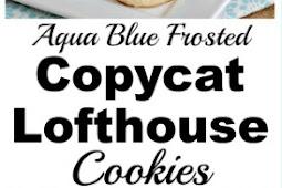 Aqua Sugar Cookie Recipe