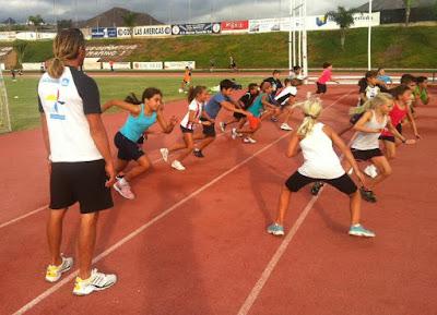 Preparación jóvenes atletas
