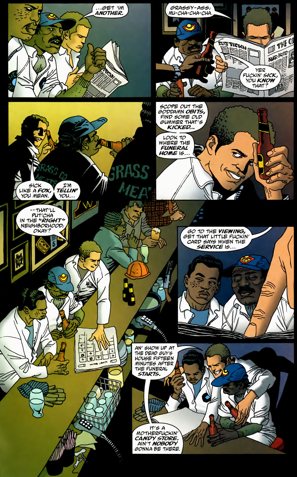Read online 100 Bullets comic -  Issue #70 - 12