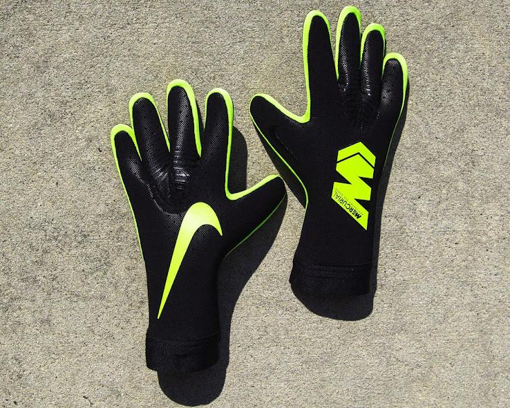 Black   Volt Strapless Nike Mercurial Touch Elite Goalkeeper Gloves Released ad62185179