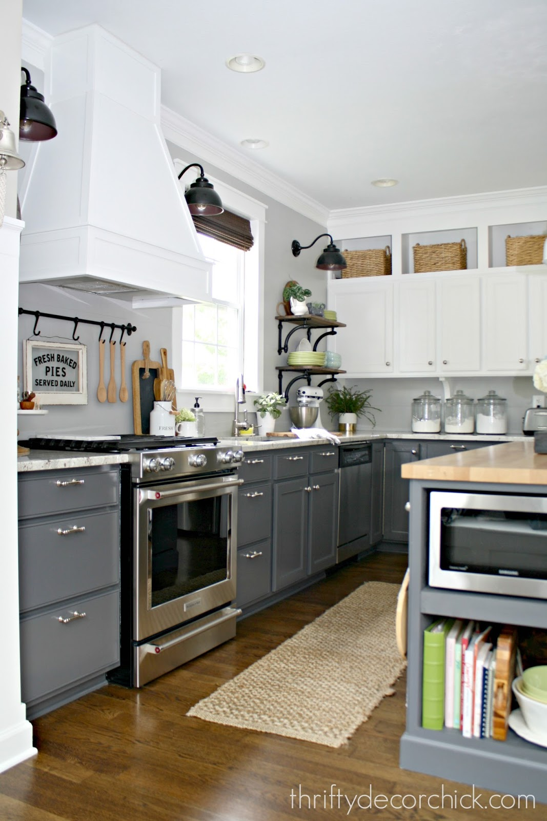 A DIY kitchen renovation update (nine months later) from ...