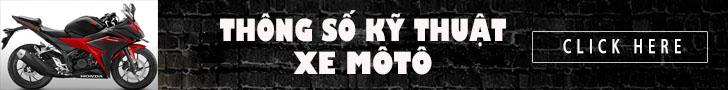 Thông Số Kỹ Thuật Xe Moto