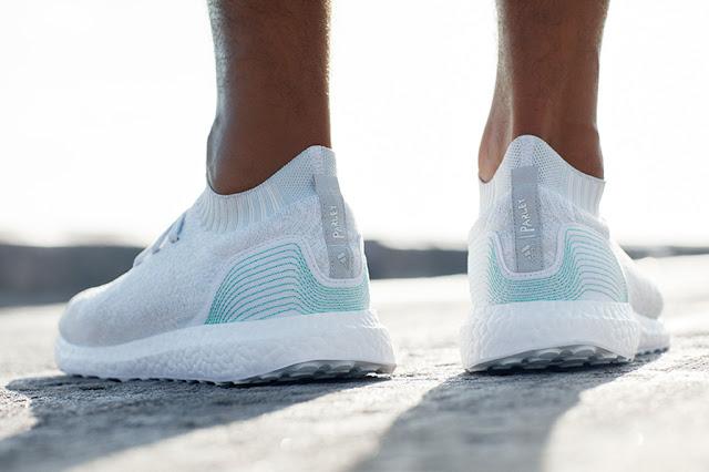 adidas X Parley tenis sneaker feito com lixo do mar
