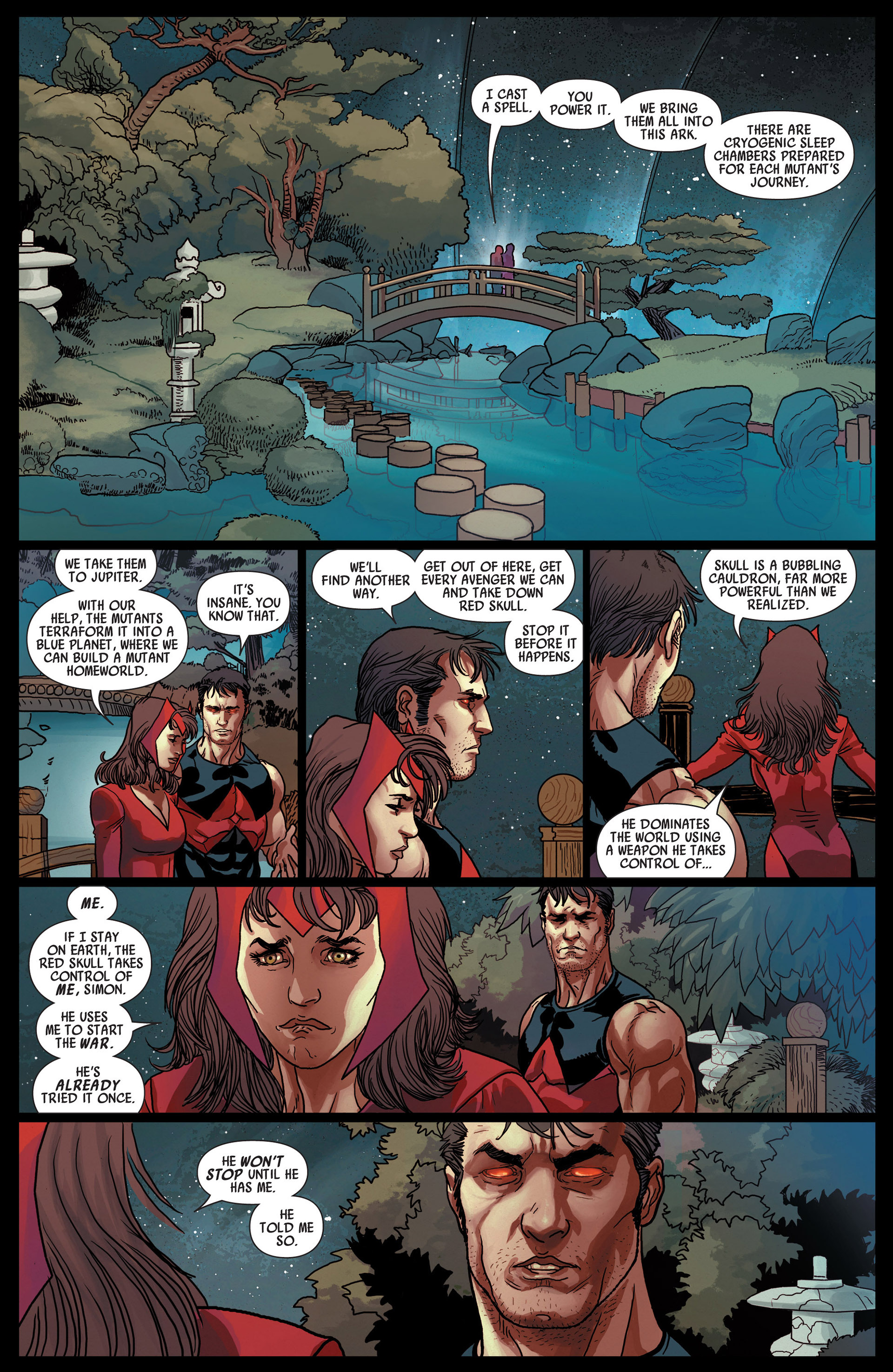 Read online Uncanny Avengers (2012) comic -  Issue #12 - 16
