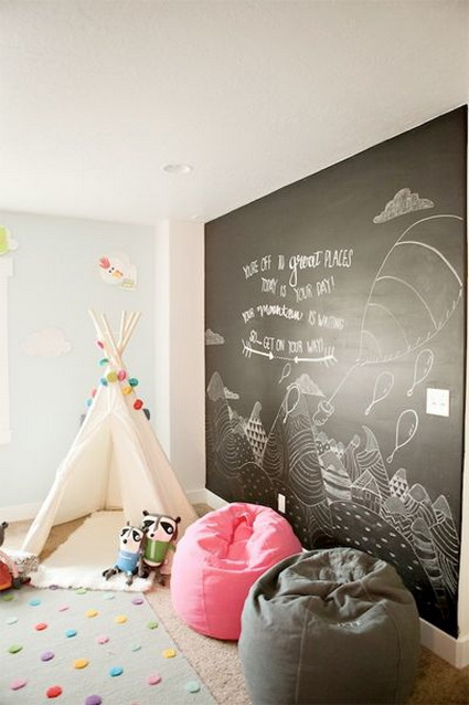 Slate Walls In Children's Rooms 5