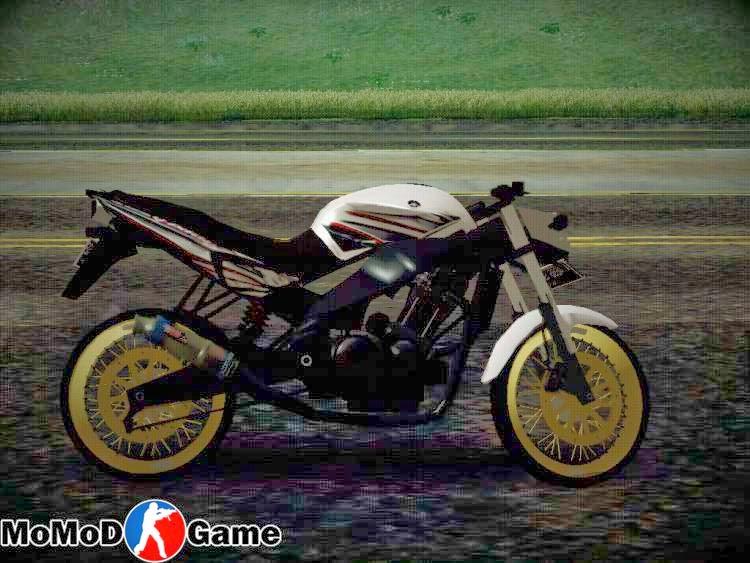 Yamaha Vixion Drag v2.0 Mod GTA San Andreas