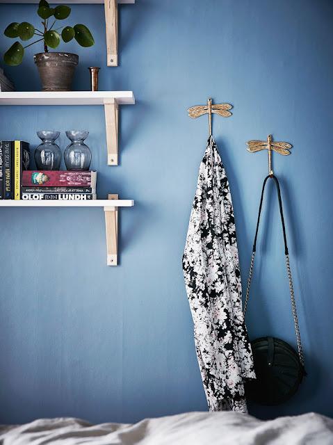 libélulas, ganchos de parede, blog Achados de Decoração