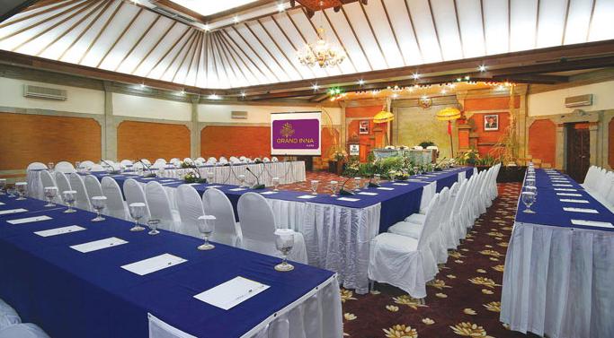 Meeting Room yang cukup luas dan nyaman di  Grand Inna Kuta Hotel di Pulau Dewata Bali