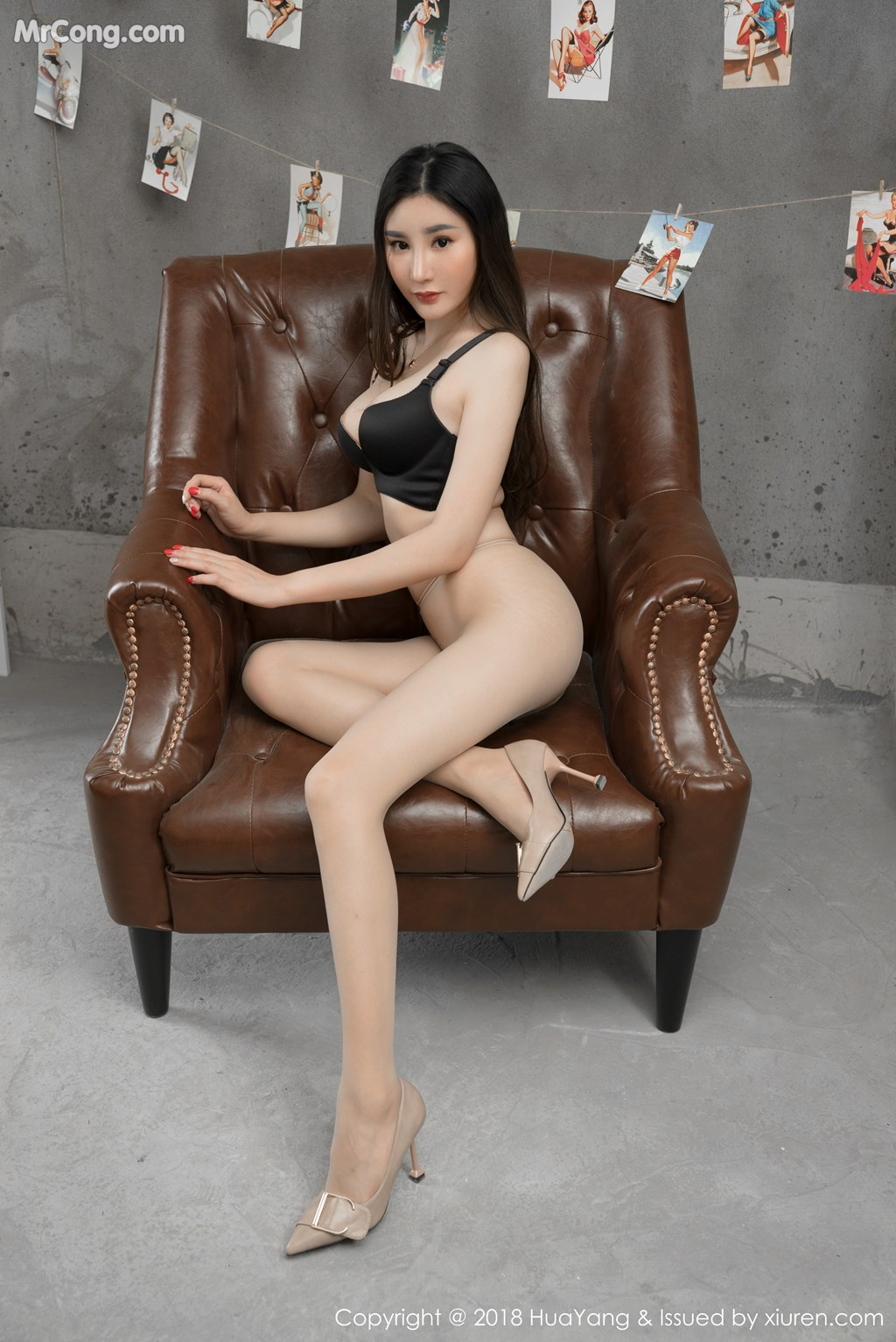 Image HuaYang-2018-03-02-Vol.034-Xiao-Tian-Xin-Candy-MrCong.com-005 in post HuaYang 2018-03-02 Vol.034: Người mẫu Xiao Tian Xin (小甜心Candy) (41 ảnh)