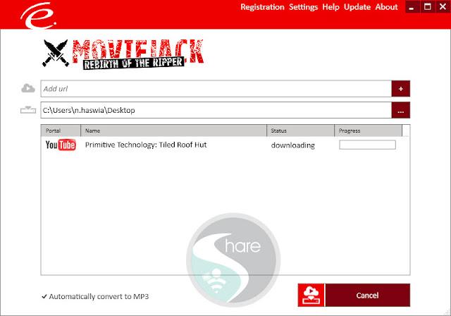 مجانا احصل على برنامج MovieJack لتحميل أي فيديو من يوتيوب MP4 | MP3