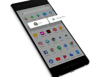 Fitur Slices fitur android pie terbaru