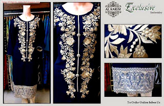 Al Karim Ready to Wear Luxury Dress Collection 2014-2015