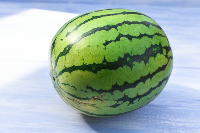 A whole watermelon
