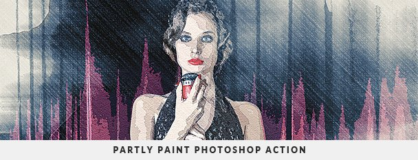 Painting 2 Photoshop Action Bundle - 57