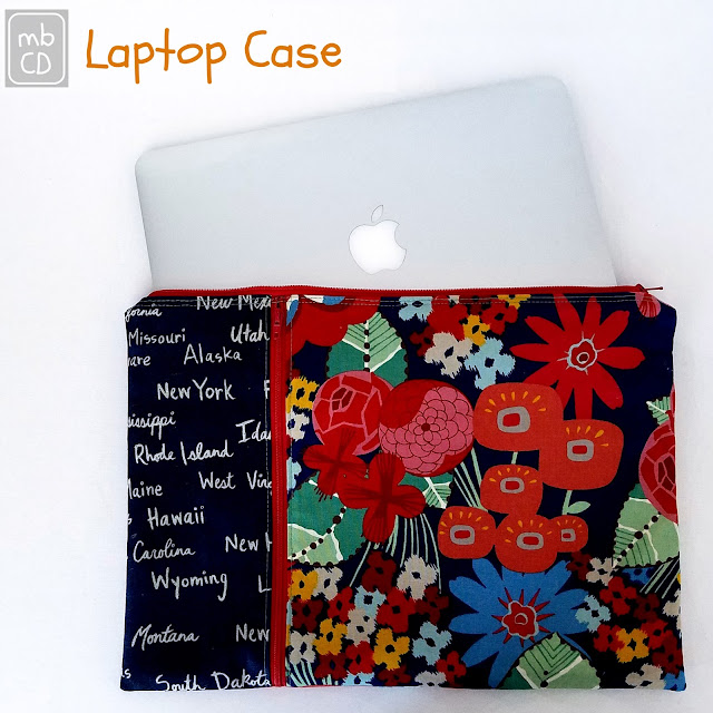 Lap Top Case Tute @madebyChrissieD.com