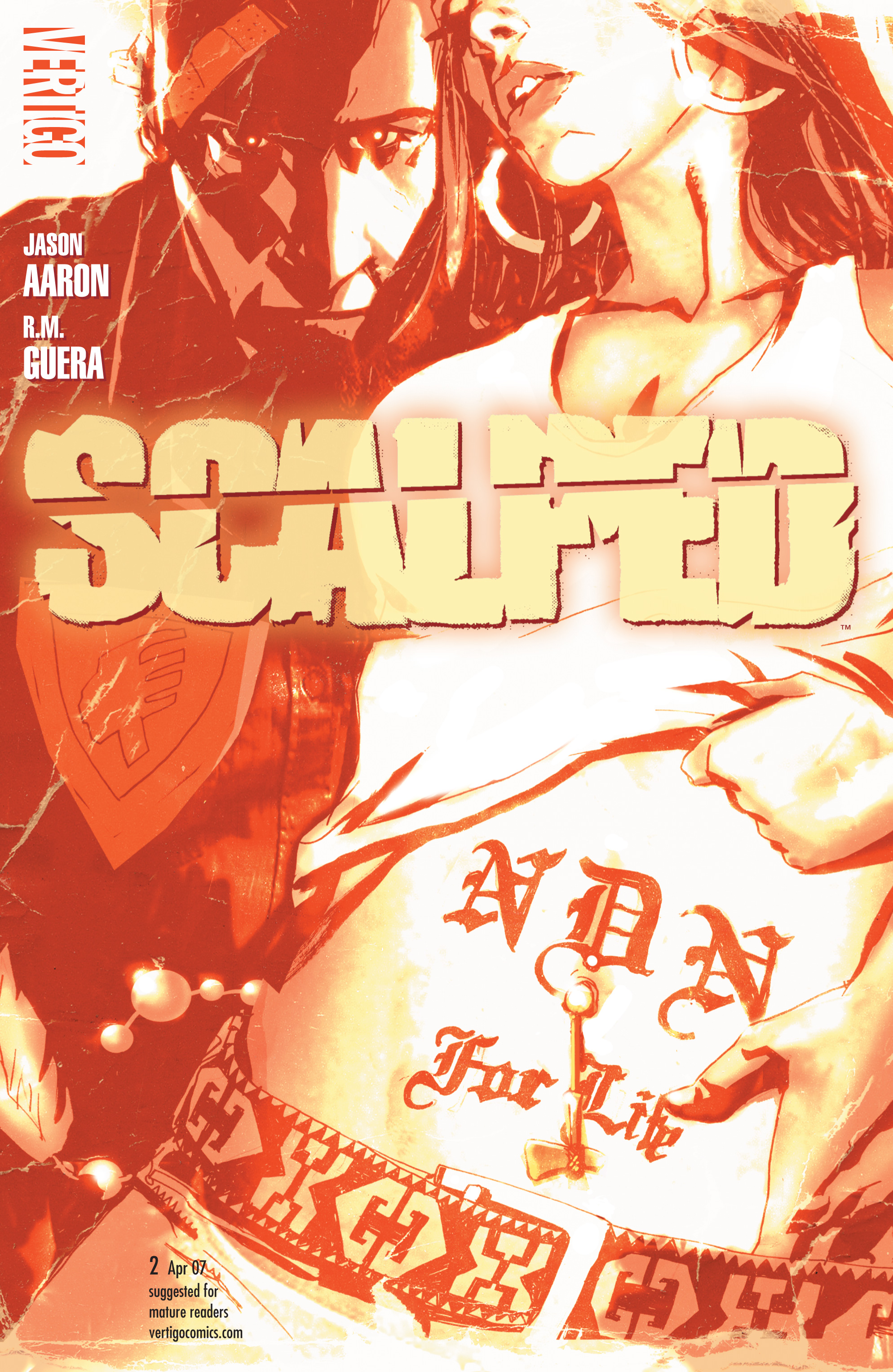 Scalped issue 2 - Page 1