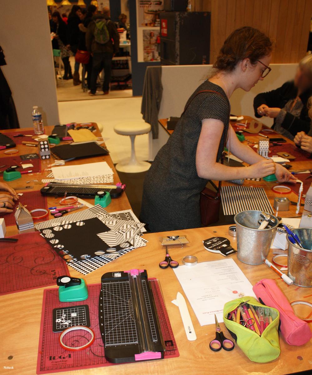 atelier DIY de petits paquets cadeaux