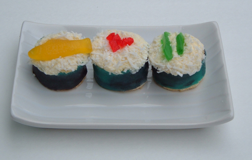Styleburb Chinese Food And Sushi Cupcakes