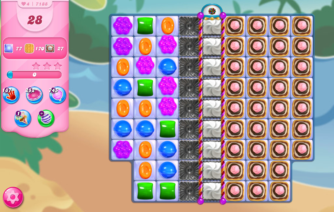 Candy Crush Saga level 7188