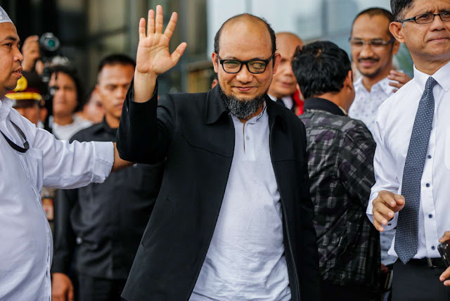 #500HariNovelDiserang, Upaya Sindir Janji Jokowi soal Korupsi