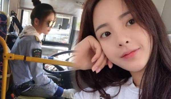Kembali Viral! Gadis Cantik Yang Bekerja Sebagai Supir Bis Ini Jadi Populer Seketika
