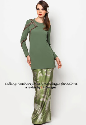 Falling Feathers collection at Zalora