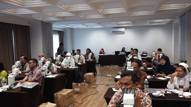 Training Of Trainer (TOT) Penguatan Tenaga Mikroskopis Malaria BBTKL PP