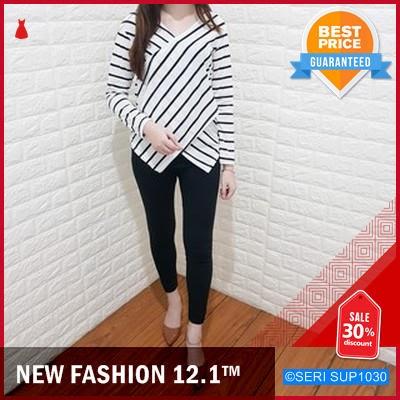 SUP1030E33 Ediz Big stripe Long sleeve Murah BMGShop