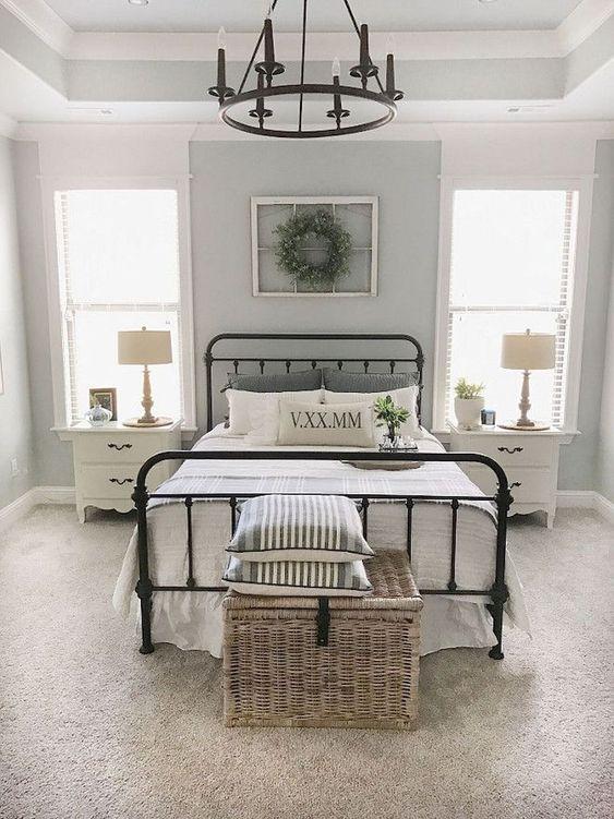 beautiful farmhouse master bedroom ideas