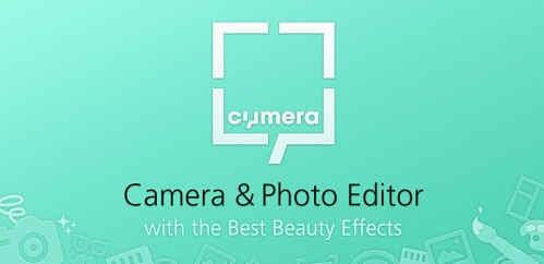 Cymera – Câmera e editor de fotos