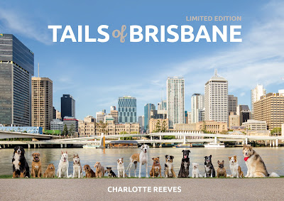 Book Cover of Tails of Brisbane photography book by Charlotte Reeves