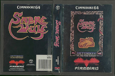 SABREWULF (COMMODORE 64)