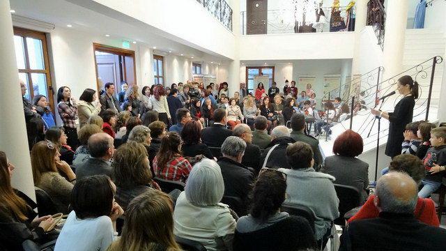 Ολοκληρώθηκε με επιτυχία η πολιτιστική - εκπαιδευτική δράση προς τιμήν της Δόμνας Βισβίζη