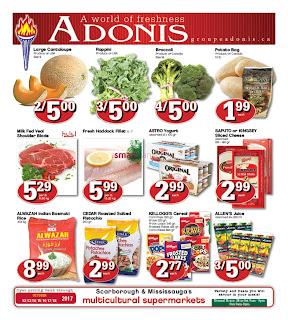 Marche Adonis Specials Flyer valid October 12 - 18, 2017