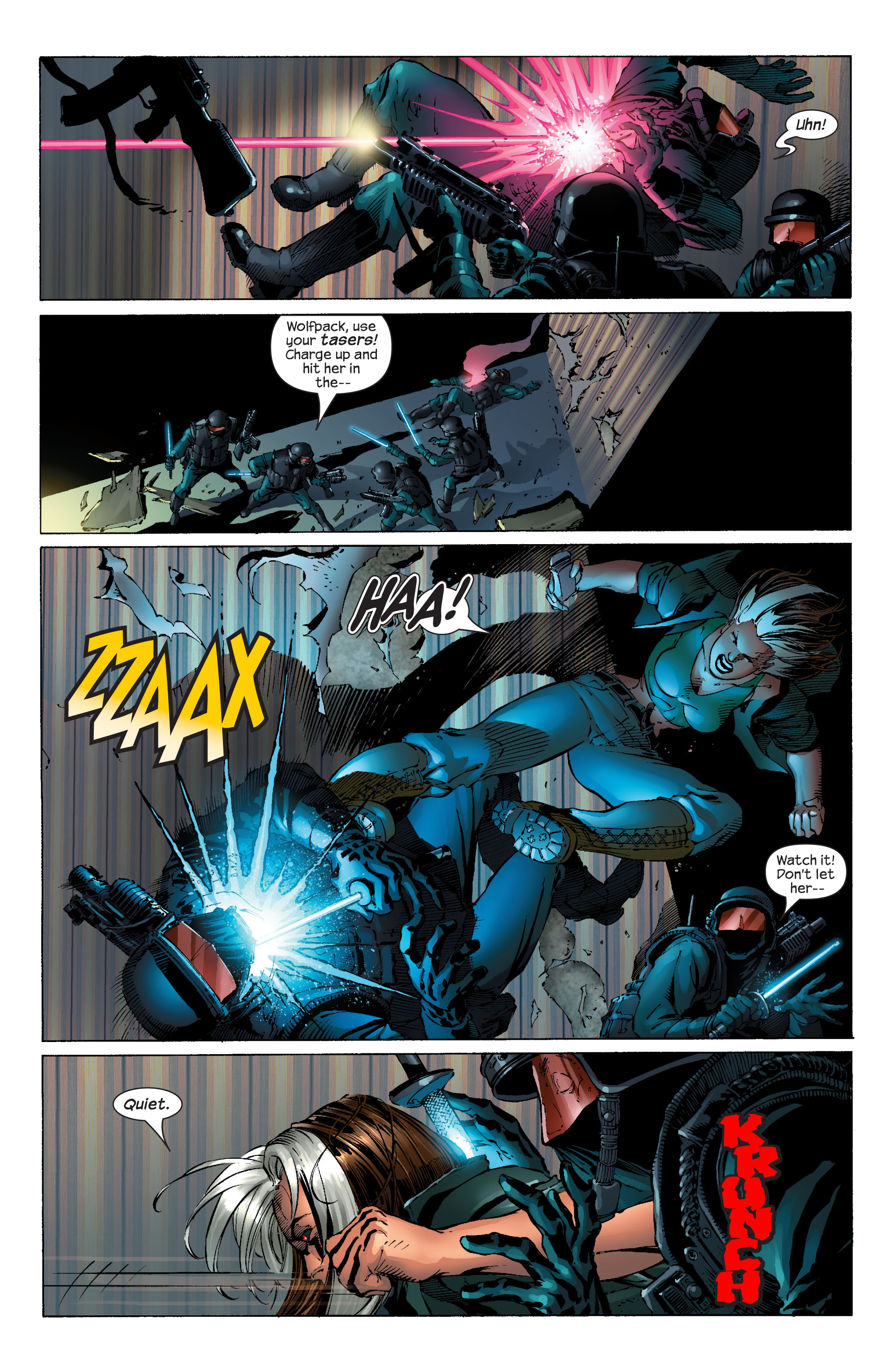 Read online Ultimate X-Men comic -  Issue #51 - 16