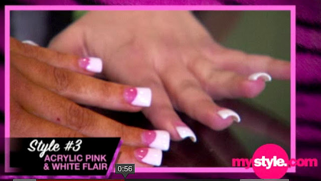 So Anyway One Of The S Tracy Dimarco Was Donning These Nails With Wide Flair Tips I Fell In Love Them Minute Saw