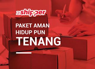 Platform jasa pengiriman Shipper.
