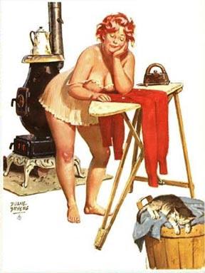 Hilda ironing crop