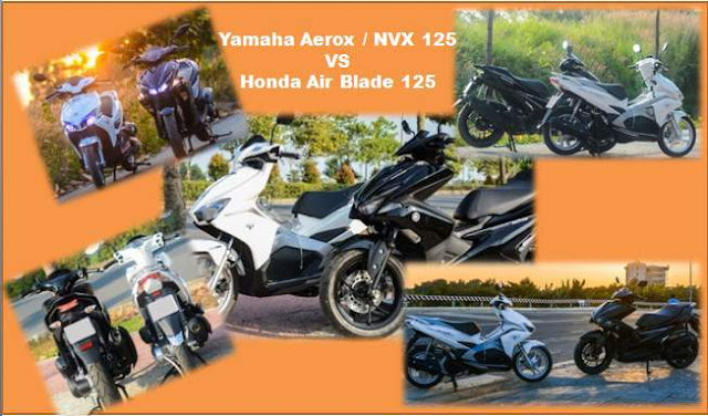 Yamaha-aerox/NVX-VS-Honda-Air-Blade