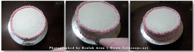 How To Write Letters With Whipped Cream On The Cake