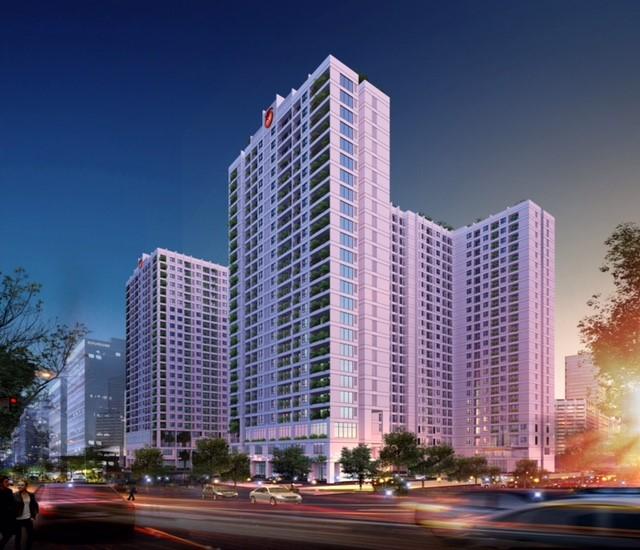 Phối cảnh dự án chung cư Anland Nam Cường