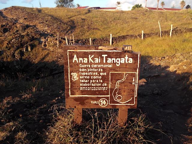 Ana Kai tangata, Isla de Pascua