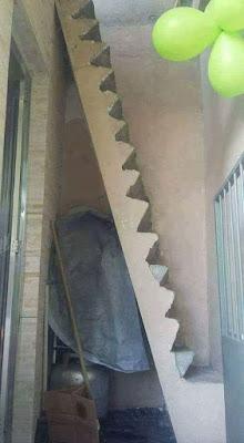 escaleras empinadas